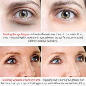Image 3 - MEIKING שחור פנינת קולגן מסכה לעיניים נגד קמטים הלבנת שינה העין תיקון מסיר עיגולים כהים שקיות עיניים עין קווים טיפול