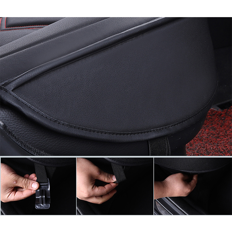 Image 5 - New Universal PU Leather car seat covers For kia Rio 3 4 2017 2018 Sorento 2005 2007 2011 2013 2016 2017 soul spectra styling-in Automobiles Seat Covers from Automobiles & Motorcycles