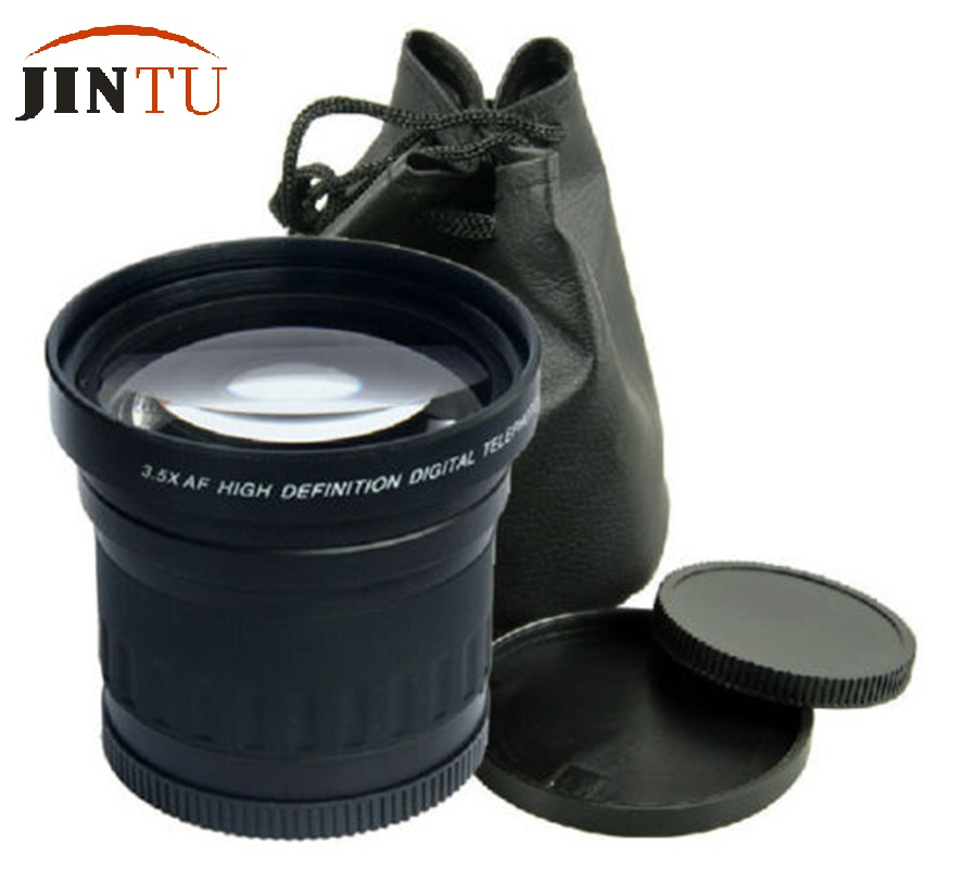 JINTU 58mm 3.5X HD TÉLÉOBJECTIF Téléobjectif Téléconvertisseur Pour CANON NIKON PENTAX Numérique Appareil Photo et Caméscope