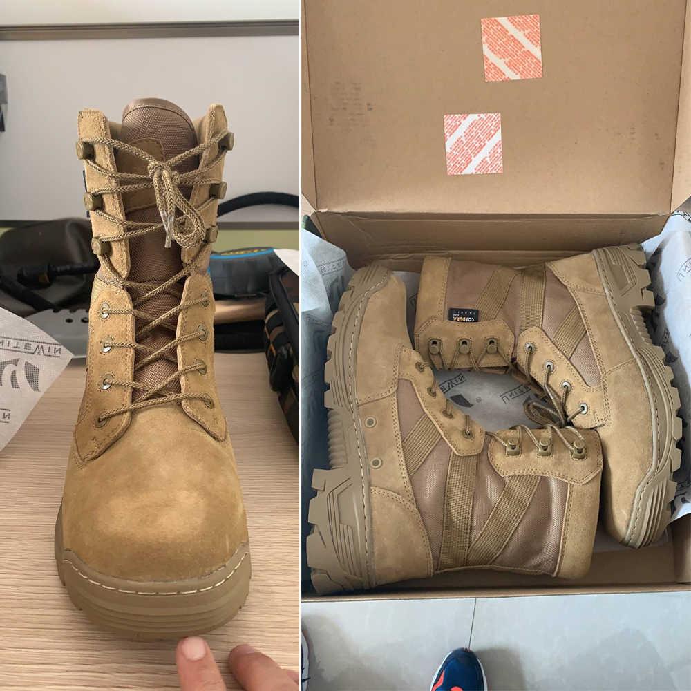 Izci Çöl Taktik Askeri Botlar Erkekler Savaş Botları erkek ayakkabıları Üniforma Iş Tırmanma Erkekler asker botu Kadın ayakkabı Botları