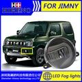 Super White LED Luzes Diurnas Para Suzuki Jimny Barra de Luz Drl Estacionamento Luzes de Nevoeiro Carro 12 V DC Cabeça lâmpada