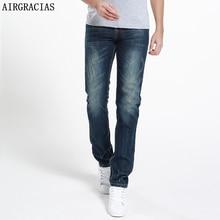 AIRGRACIAS Brand Jeans Summer Style Brand Mens Jeans Cotton Classic Ripped Jeans For Men Fashion Designer Biker Jean 28-40
