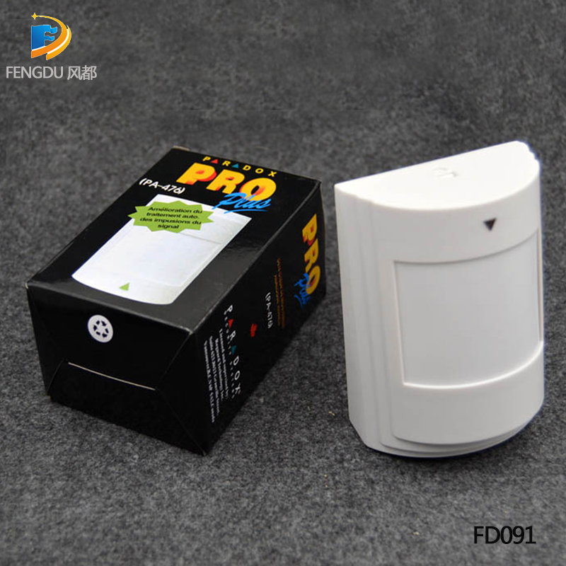 Wired PIR Sensor Wired Infrared Detector Wired Motion Sensor Work With All Alarm System With Free Shipping