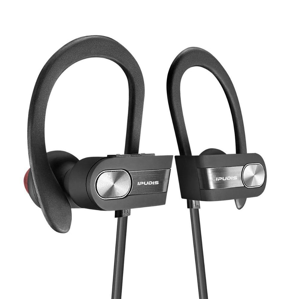 Ipudis 110mah Ear Hook Bluetooth Earphone Sport Wireless Headsets Portable  Nano Waterproof Earbuds Headphone(china