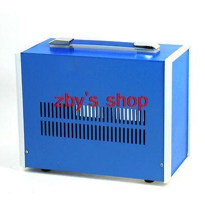 270mm x 210mm x 140mm Blue Metal Enclosure Case DIY Power Junction Box 4pcs a lot diy plastic enclosure for electronic handheld led junction box abs housing control box waterproof case 238 134 50mm