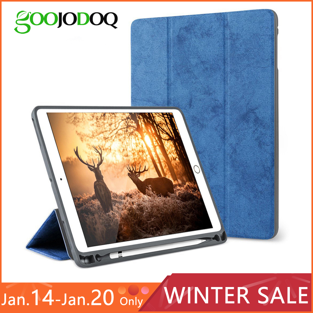 new style 87dfd 04701 US $8.99 40% OFF|For iPad Pro 10.5 Case with Pencil Holder, GOOJODOQ Full  Body Protective Shockproof Smart Cover for iPad Pro 10.5 inch Funda-in ...
