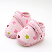 Baby Shoes Girl Anti-slip Skid-proof Shoes Soft Toddler Infa