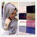 (12 pieces/lot) 2016 new designs Muslim scarf Islamic Hijab Shawl Wrap assorted colors HW201