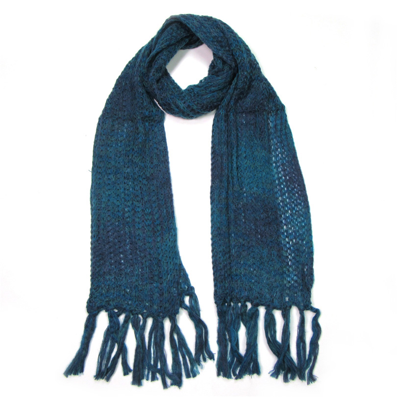 Scarf For Women Winter Warm Thick Knitted Pashminas Long Tassel Soft - Apparel Accessories
