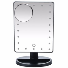 Makeup Mirror With Led Light 10X Magnifying Mirror
