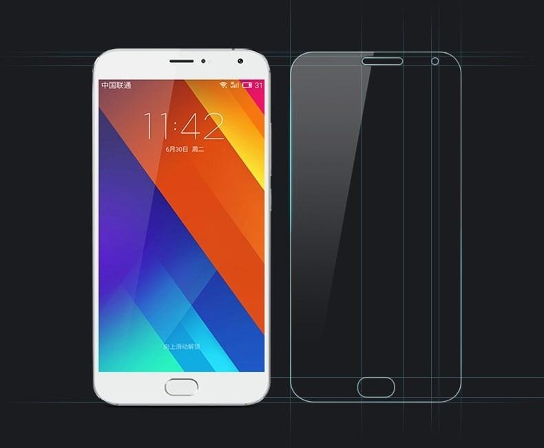 2PCS Glass For Meizu MX5 Screen Protector Tempered For Glass Meizu MX5 Glass MX 5 Ultrathin Premium Anti-scratch Phone Film