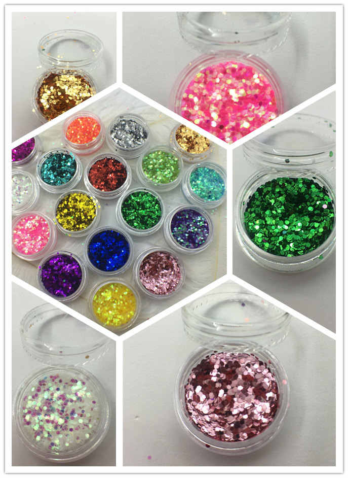 2018 NEW Dust Kit Acrylic Gem Nail Polish Tools 3D Nail Art Decorations Nail Glitter Powder SF-180
