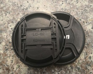 40.5 49 52 55 58 62 67 72 77 82 mm front Center Pinch Snap on Lens Cap cover f canon ef 5d3 6d nik d750 a7 a9 a6500 camera(China)