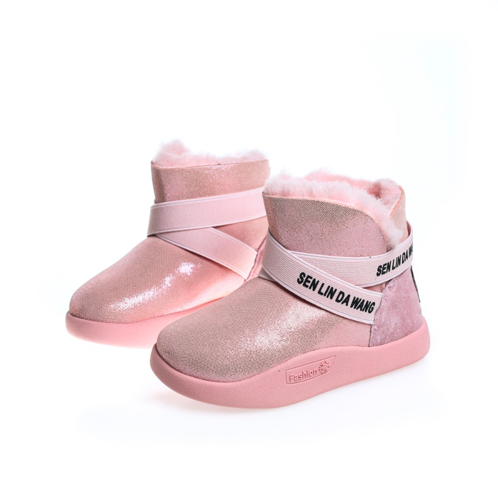 2017 new children's waterproof snow boots non-slip thick keep warm comfortable girls cotton boots cute shoes for kids 2016 new winter kids snow boots children warm thick waterproof martin boots girls boys fashion soft buckle shoes baby snow boots