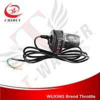 Elektroroller Griff Torsion-drossel Griffe 36 V mit Batterieanzeige WUXING Gasgriff (Roller Ersatzteile & Zubehör)