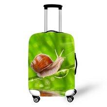 купить lamingo Print Travel Accessories Suitcase Protective Covers 18-32 Inch Elastic Luggage Dust Cover Case Stretchable по цене 1011.49 рублей