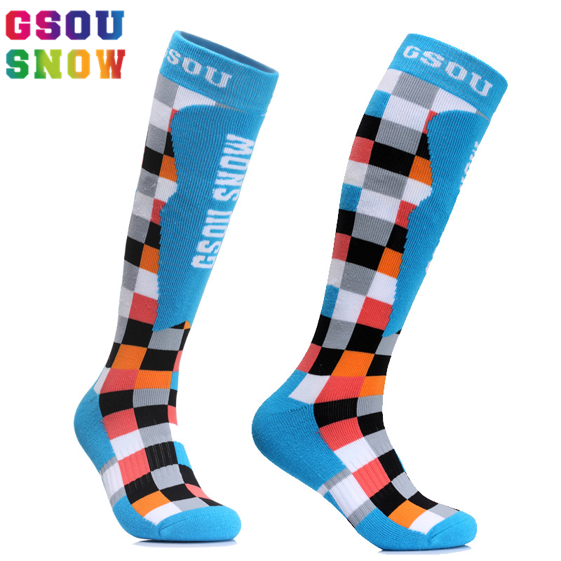 Gsou Snow Ski Socks Men and Women Winter Cycling Socks Outdoor Running Cycling Snowboarding Skiing Sport Socks Thermal Warmth ...