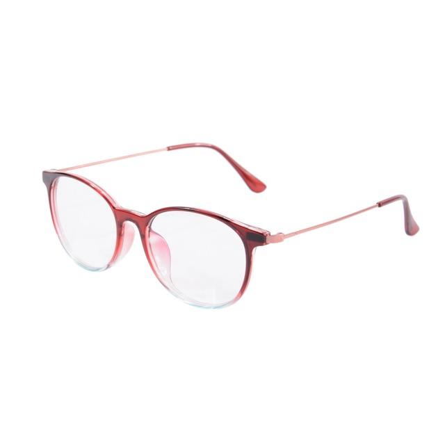Retro rodada óculos de armação mulheres Anti luz azul jogos de computador óculos resistente à radiação PC 4 cores em estoque SH015