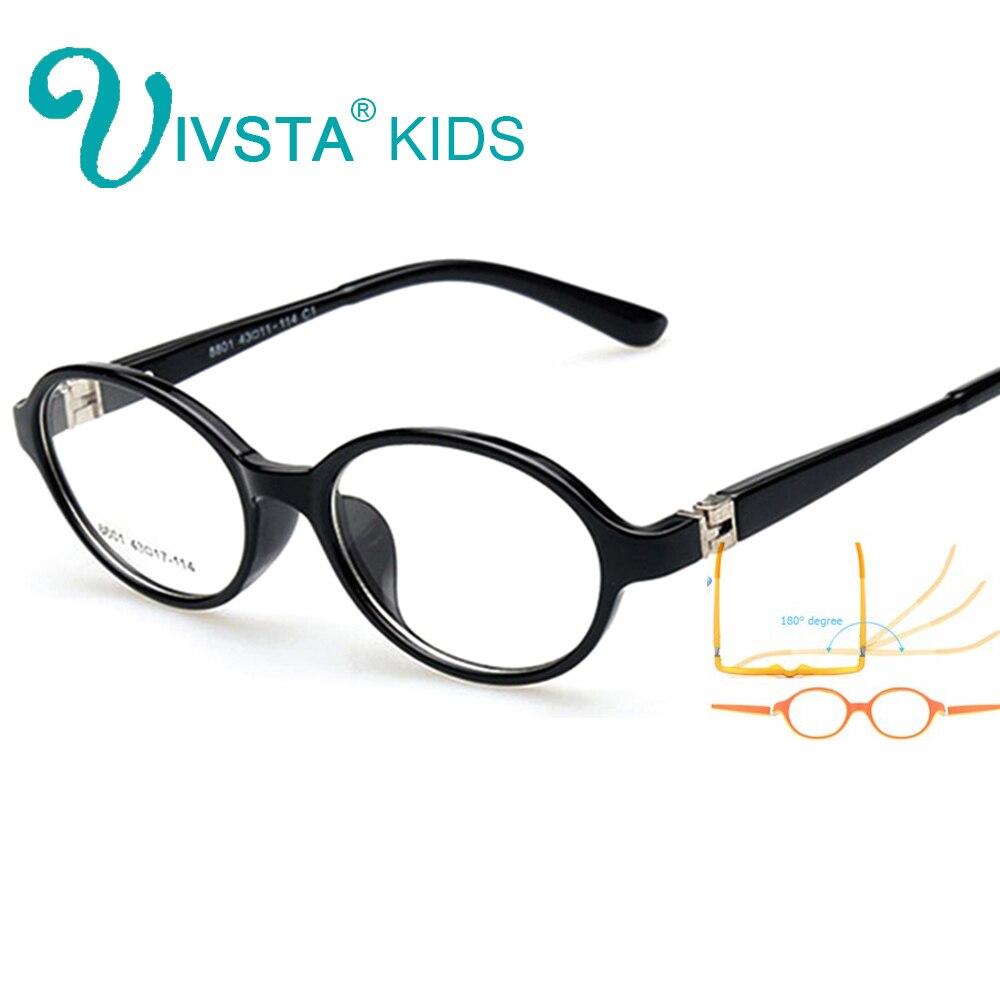 Ivsta niños marcos ópticos Eyewear ojo Gafas redondo Gafas para ...