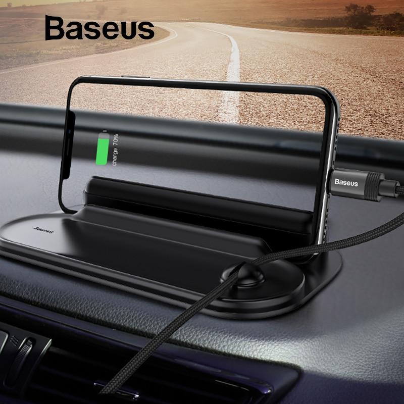 Baseus soporte para teléfono móvil titular del teléfono del coche de estacionamiento temporal TARJETA DE NÚMERO DE TELÉFONO Placa de etiqueta engomada del coche-estilo Rocker interruptor
