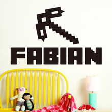 Fabian Game Poster Wall Art Stickers For Kids Room Decoration Minecraft  My World Decal Nursery Bedroom Decor Mural W670