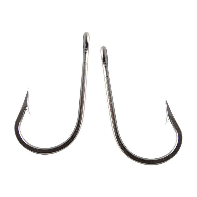 5pcs strong stainless steel fishing hook 7691 sharp tuna for Stainless steel fishing hooks