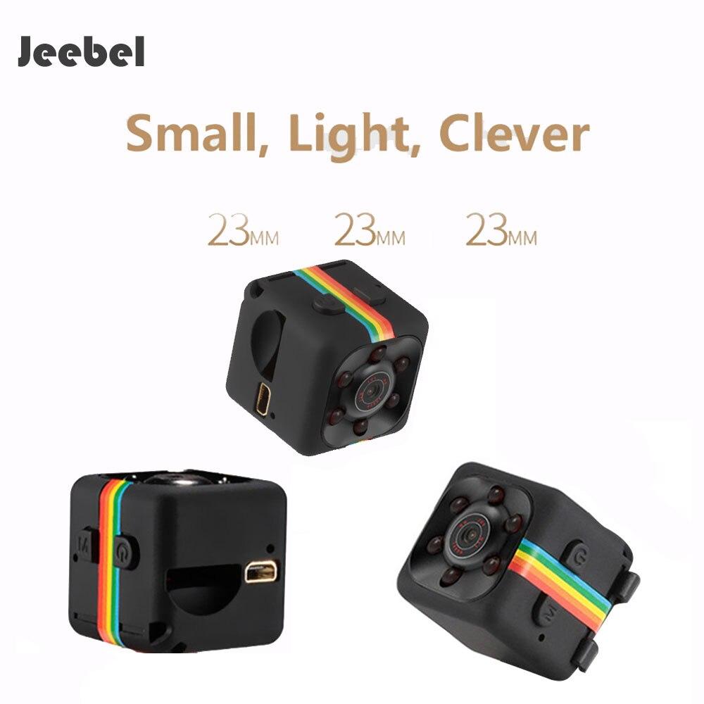 Jeebel Mini Hide Camera HD 1080P Sport Camera Family DV Tiny Portable Around Big 140 Angle Tiny Camera Hifden Camera Cacher