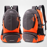 2017 Hot Sales Unisex Shoulders Mountaineering Travel Bag Men And Women Travel On Foot Sacs De