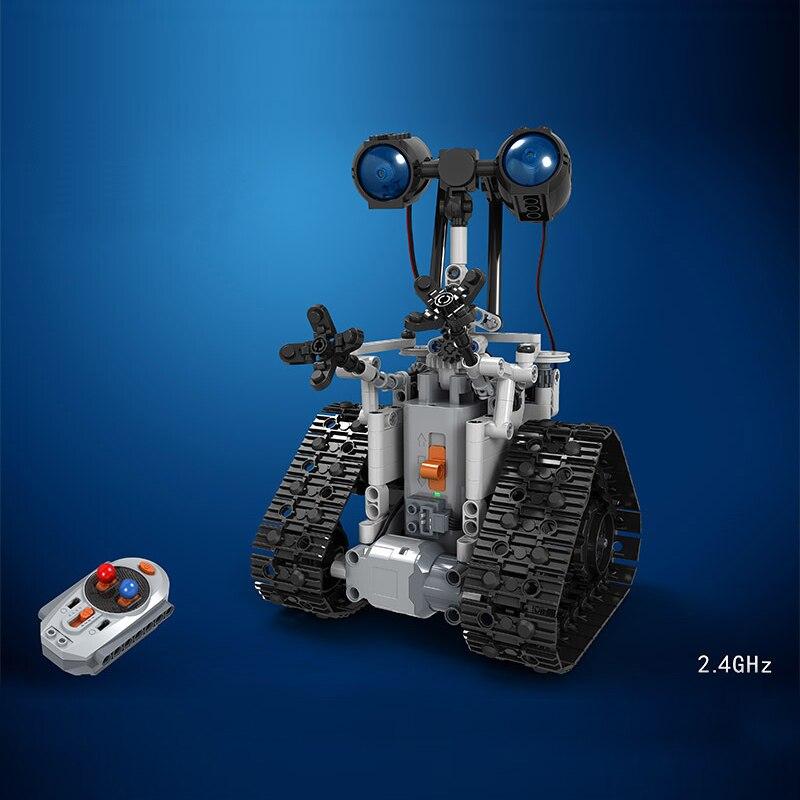 408 pièces télécommandé créateur E Robot avec soin technique figure d'action RC blocs de construction modèle jouet pour enfants cadeau garçon fille