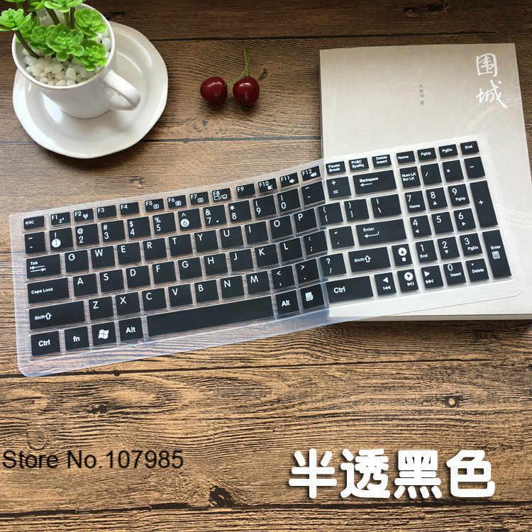 15.6 インチノートパソコンのキーボードソフトシリコン保護キーボードカバープロテクター Asus vivobook 最大 x541 X541SA x541sc R541U X541U