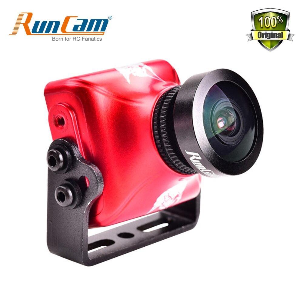 RunCam Aigle 2 800TVL CMOS 2.1mm 2.5mm 4:3 16:9 NTSC PAL Commutable Super WDR FPV Caméra Faible Latence