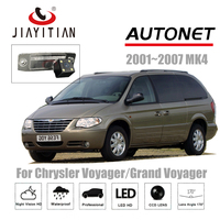 JIAYITIAN Rear View Camera For Chrysler Voyager/Grand Voyager mk4 2001~2007 CCD Night Vision Reverse Camera license plate camera