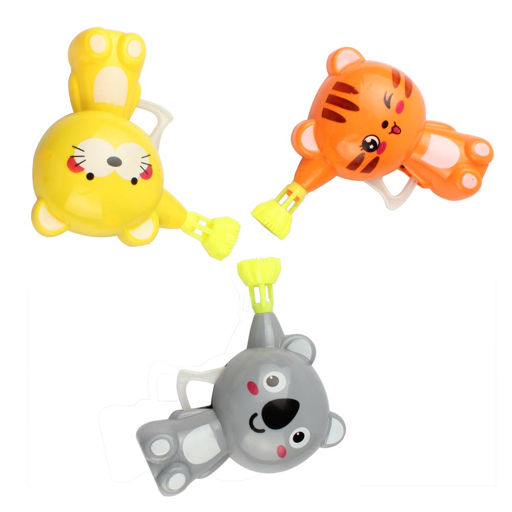 Cartoon Animal Model Soap Bubble Gun Shooter Blower Kids Party Favor Toys Gift