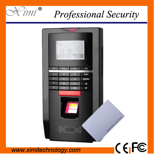 Hot Sale Tcp/Ip Time Attendance Fingerprint/Id Card/Password Identification Fingerprint  ...