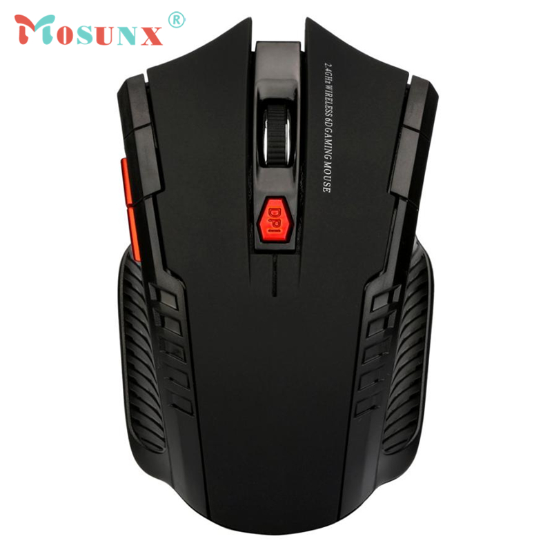 Wireless Optical Mouse 2.4Ghz Mini 1200DPI 10M Gaming Mice& USB Receiver For PC Laptop Rato Raton Support Windows 17July7
