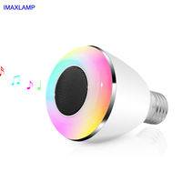BL08A Bluetooth Smart LED Bulb Speaker Bluetooth 4 0 Installed In E27 B22 Socket