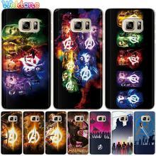 Fashion Marvel Avengers Phone Case For Samsung S10 Lite S9 S8 Plus S7 S6 Edge J310 J330 J530 J2prime Iron man case cover Etui
