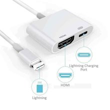 for Lightning to HDMI adapter cable digital AV TV for iPhone
