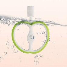 Детский Прорезыватель для зубов в форме яблока, зубная щетка для ухода за ребенком, Силиконовая зубная щетка, новинка