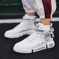 1383562b Популярные высокие мужские спортивные кроссовки хип-хоп Air Force  повседневная мужская обувь для скейтбординга Водонепроницаемая