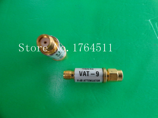 [BELLA] MINI VAT-9 DC-6GHz Att:9dB P:1W SMA Coaxial Fixed Attenuator  --5PCS/LOT