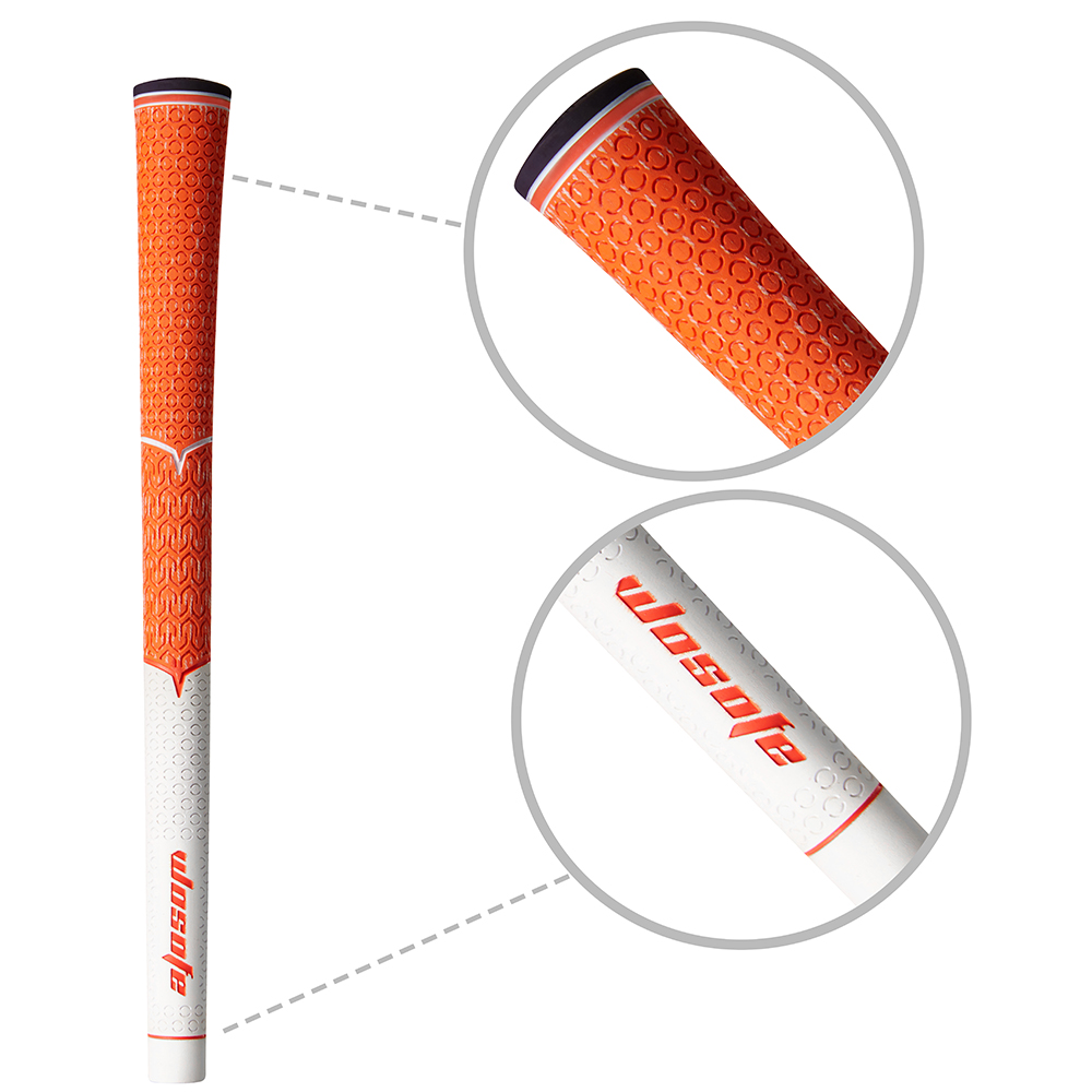 Golf Club Grips Rubber Irons Club Grips for Golf Men?s Golf Grip Soft Non-Slip and Wear Resistant Golf Grip
