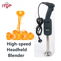 ITOP New Commercial Kitchen Aid Hand Held Blender Immersion Mixer Electric Mount Rack Fixed Speed Food Mixer EU/UK/US Plug