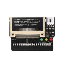 цена на Compact Flash CF To 3.5 Female 40 Pin IDE Bootable Adapter Converter Card Standard IDE Interface True-IDE Mode