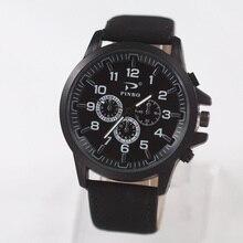 купить  reloj hombre 2017 New Fashion Casual Watches Men Sports Quartz Watch Women Dress Leather Wristwatch Hot Sale relogio masculino по цене 158.92 рублей