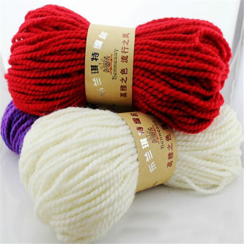 Knitting Yarn Aliexpress : Wholesale g lot worsted wool merino thick yarn for