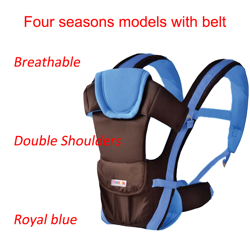 Mother & Kids Independent 2-48 Months Breathable Multifunctional Front Facing Baby Carrier Infant Comfortable Sling Backpack Pouch Wrap Baby Kangaroo Activity & Gear