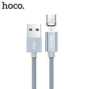 Image 1 - HOCO Từ Tính Loại C Sạc Nhanh USB Loại C USB C Sạc Dữ Liệu Nam Châm Dành Cho Xiaomi Huawei LG điện Thoại Di Động Dây Cáp 1M