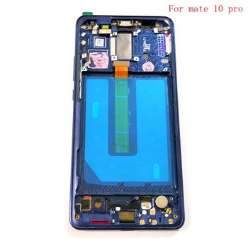 """6""""For Huawei Ascend mate 10 Pro Lcd Display+Touch Glass digitizer Frame Full assembly replacement Screen 2160*1080"""