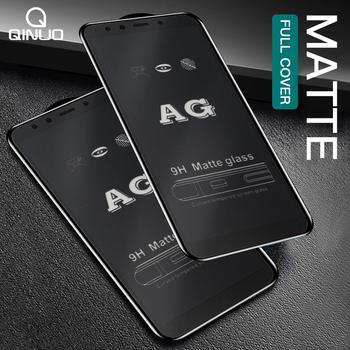 9D Matte matowe szkło hartowane dla Samsung Galaxy A2 rdzeń A6 A7 A8 Plus A9 2018 dla Samsung S10E M10 m20 szkło hartowane tanie i dobre opinie QINUO CN (pochodzenie) Przedni Film Galaxy Note 20 Galaxy M31s